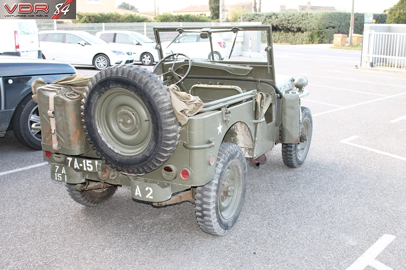 Hotchkiss 1957 Jeep Militaire