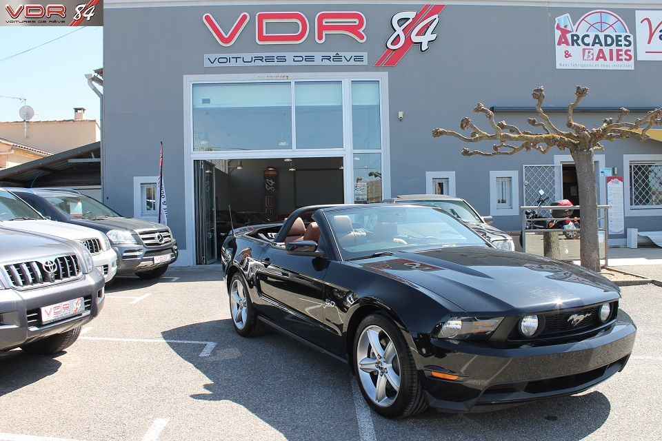 Ford Mustang V8 5.0L 417 Ch Cabriolet Boite Mécanique