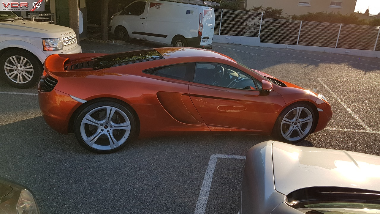 vente mc laren mp4