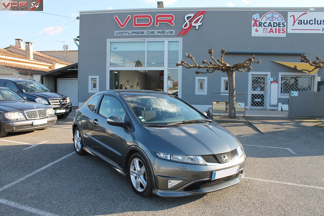 Honda Civic Type S 1,8 L i-vtec 140 ch GT Navi i-shift BVA6
