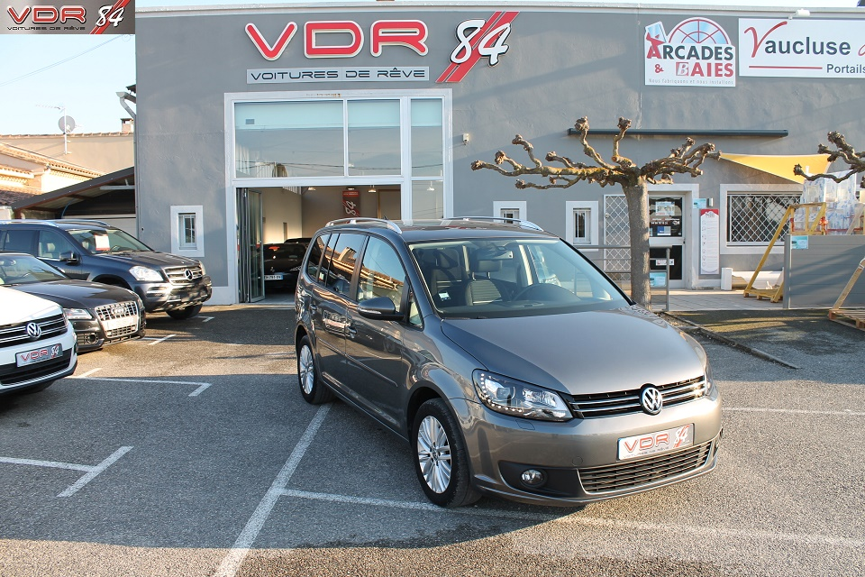 VW Touran 2.0 L TDI 140 Ch BVM6 BlueMotion Technology - 7 Places